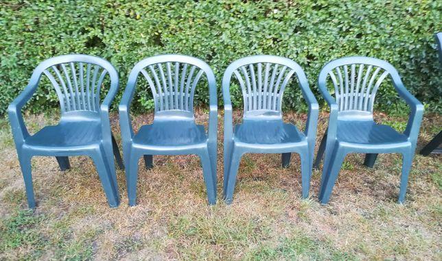 Krzesła ogrodowe plastikowe PROGARDEN.