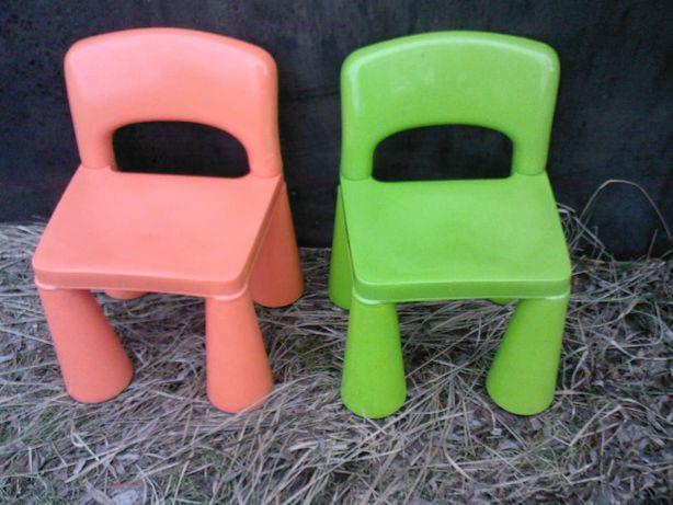 Krzesełka rozkładane Ikea (mały Mamut) dla dzieci w wieku do 4 lat