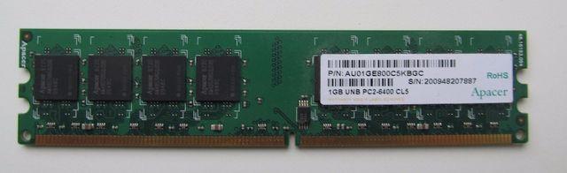 Оперативная память Apacer 1 Гб DDR2