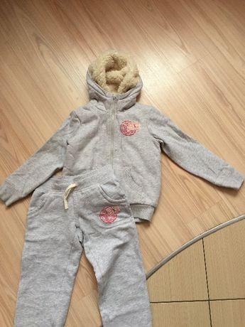 Теплый костюмчик, Англия, 7-8 лет
