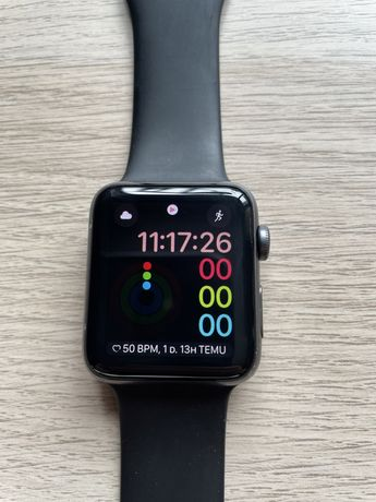 Apple watch Series 3 mm LTE 42mm space gray