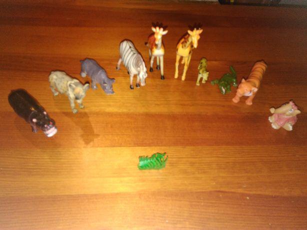 Zabawki zwierzęta afrykańskie