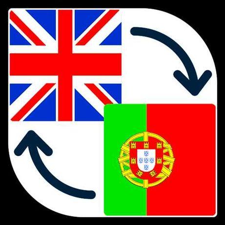 Tradutor de português para inglês