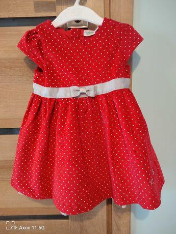 Czerwona sukienka Minnie