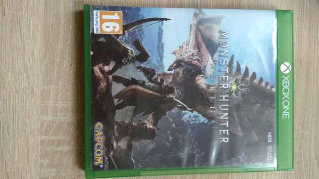 Gra  na Xbox one Monster Hunter world