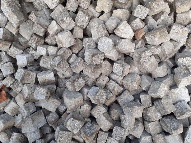 Kostka brukowa granitowa