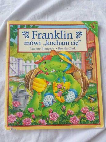 """Franklin mówi """"kocham cię"""" książka dla dzieci"""