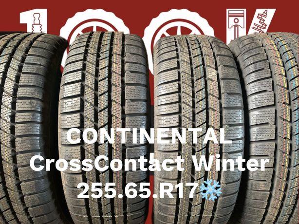 Шины Новые Continental 255 65 R17 Cross Contact Winter зима резина