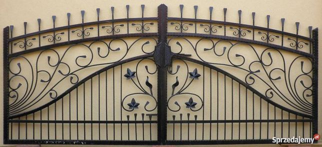 Brama kuta dwuskrzydłowa bardzo solidna Wzór 21