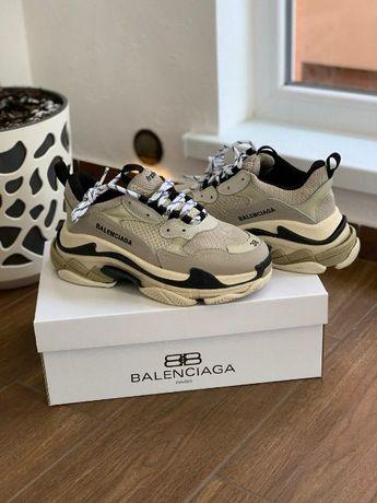 Женские кросы, кроссовки Balenciaga 0054 / Triple S / Кросовки, новинк