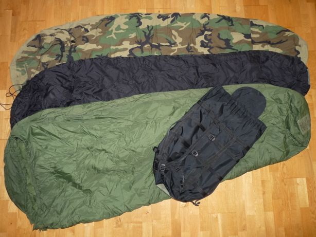 Śpiwór modularny 4-part Modular Sleep System MSS US ARMY bivy cover DB