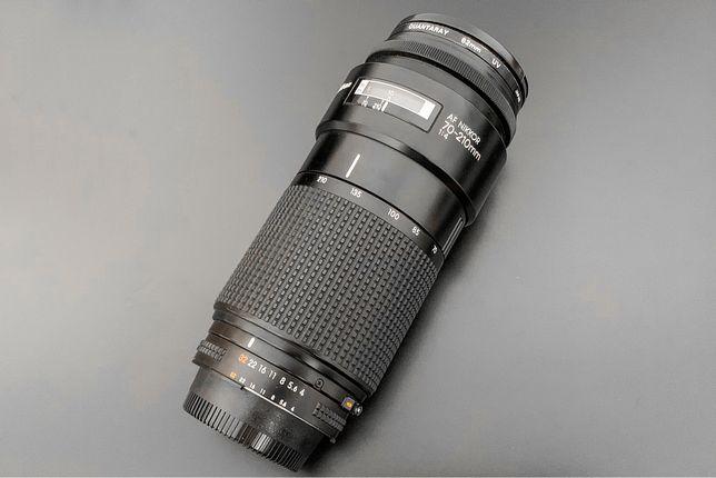 Объектив Nikon AF Nikkor 70-210mm 1:4