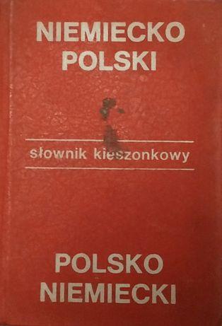 słownik kieszonkowy niemiecko-polski; polsko-niemiecki