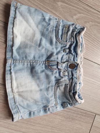 Spódniczka dzinsowa Zara