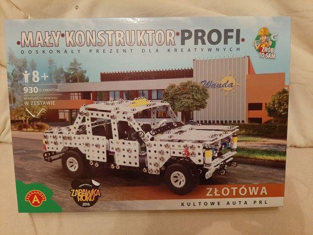 Zabawka Mały Konstruktor Złotówa Polonez taksówka taxi 1704