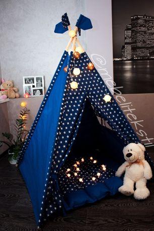 Вигвам для деток. Красивые палатки. Стильный детский домик.