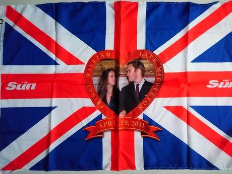 Прапор флаг плакат Англійський