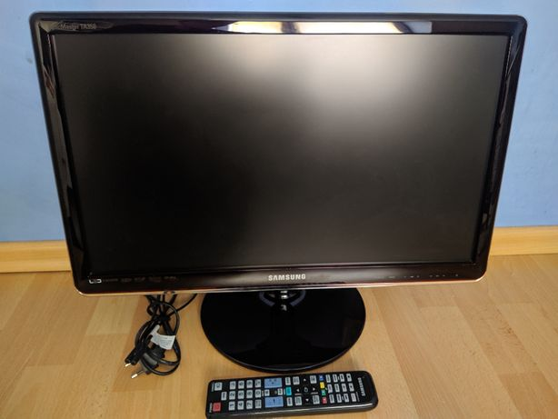 "Monitor 23"" Samsung SyncMaster T23A350 LED z tunerem TV"