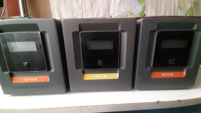 ИБП UPS Socomec NeTYS PE 1000VA LCD, FSP EP-2000 2000W