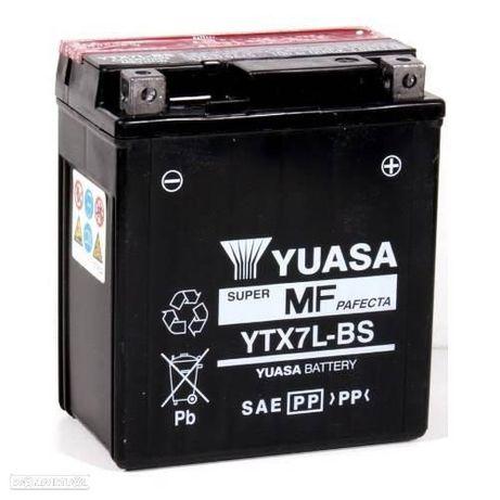 BATERIA , YUASA YTX7L-BS Honda CBR 250, 300 / crf 250 /  yamaha ybr 125 / ktm duke