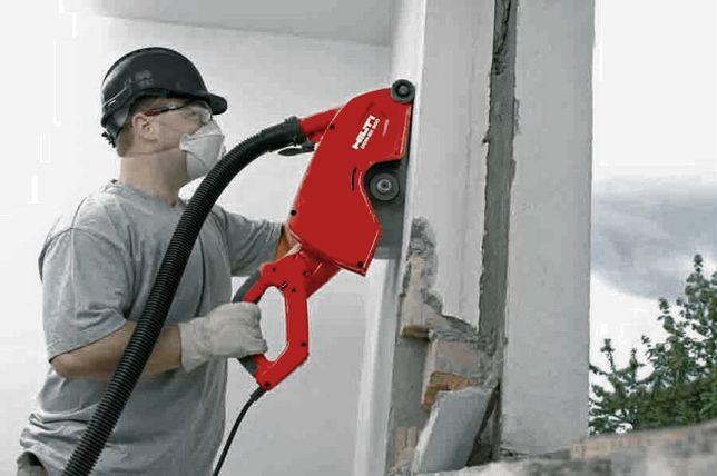 Алмазная резка.Демонтаж бетона,стен,проемов.Усиление