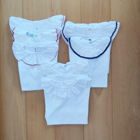 Pack 7 camisolas de gola 10/12 anos