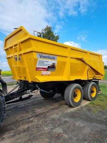 Tandem Veenhuis 18t 13m3 przyczepa rolnicza