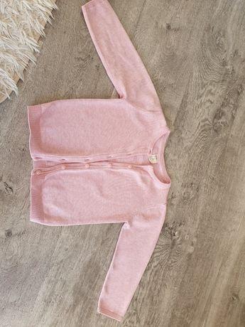 sweterek różowy hm 92