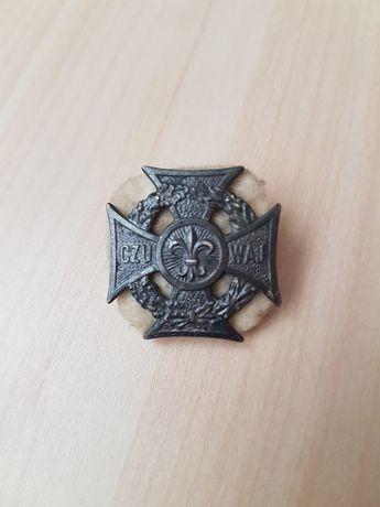 Krzyż Harcerski PRL Mennica Państwowa 1968 r Zhp Czuwaj