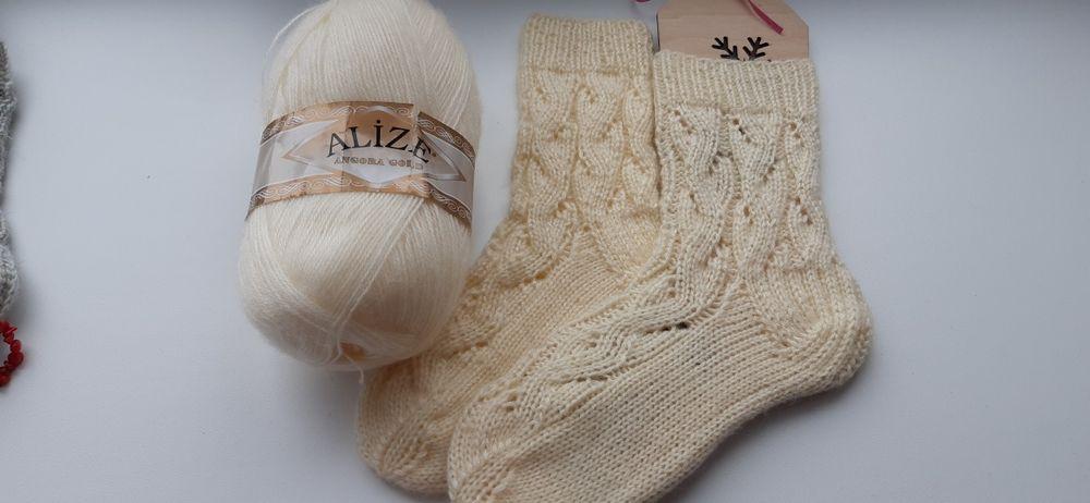 Носочки теплые вязаные, бесплатная доставка Кропивницкий - изображение 1