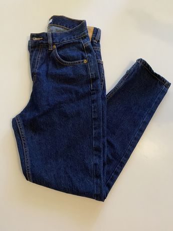 calças mom jeans pull&bear