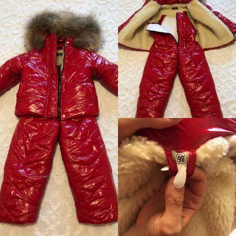 Зимний костюм 98см