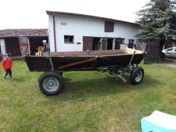 Wóz do traktora 4m