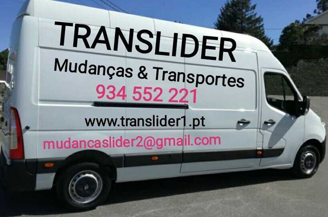 Transportes & Mudanças Braga, Porto, Famalicão, Guimarães, Trofa...