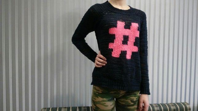 Оригинальный молодежный свитер
