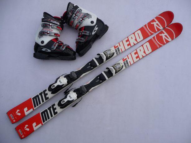 Komplet narciarski - narty Rossignol 140 cm + buty 39,5 lub 41 eu
