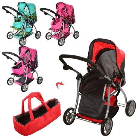 Коляска детская для кукол Melogo 9672 кукольная коляска