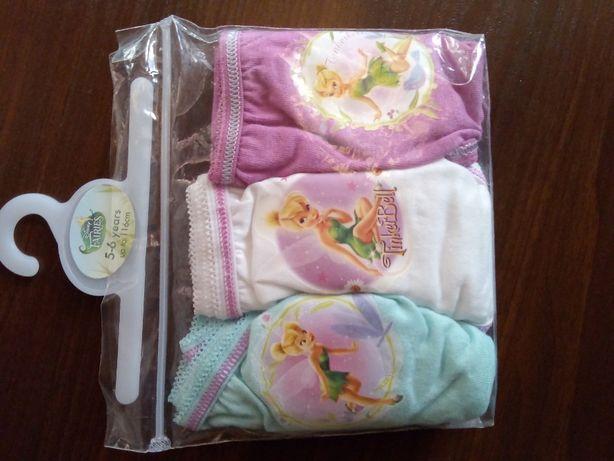 Nowe bawełniane majtki Dzwoneczek 116