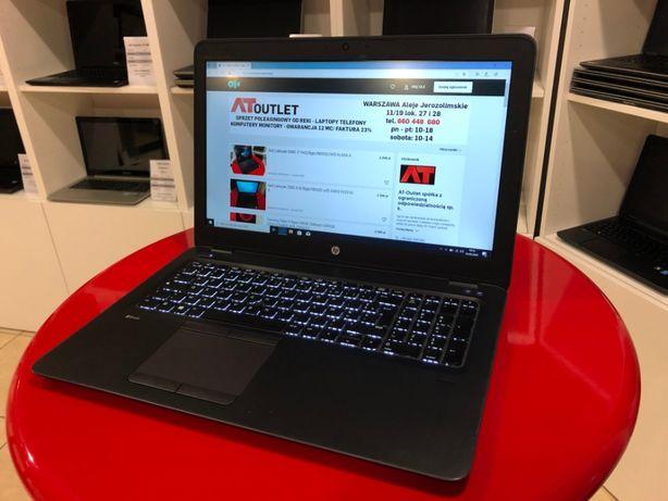 Laptop do Autocada/gier HP ZBook 15uG3 i7-6/16GB/512SSD FirePro gw12