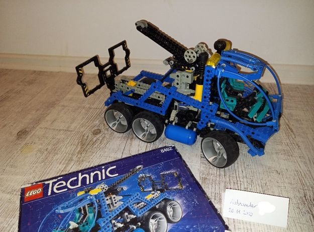klocki Lego Technic 8462 holownik pomoc drogowa