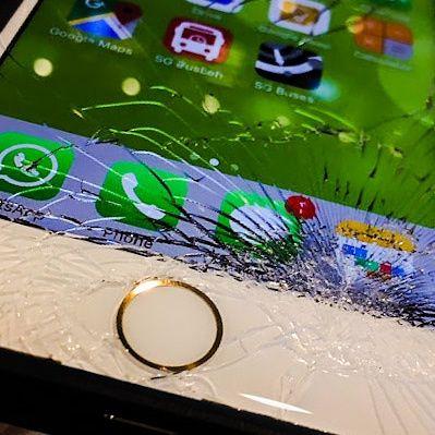 Szybka Szyba OCA iPhone 7 + wymiana. Wymiana szybki iPhone Gliwice
