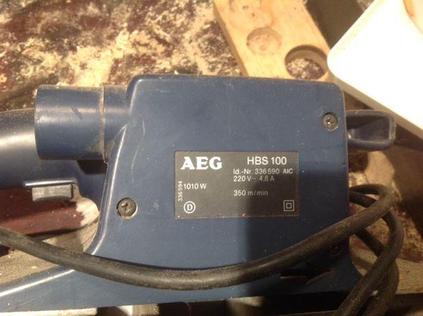 Lixadora de banda AEG HBS100