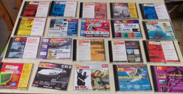 31 CD' s (Jogos, Programas e Revistas)