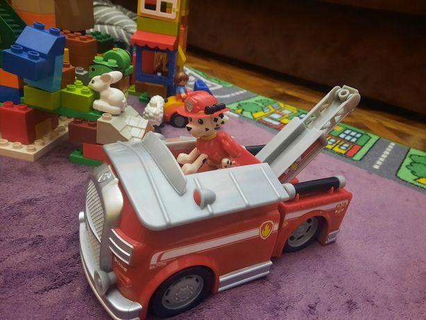 Пожарная машина щенячий патруль с фигуркой