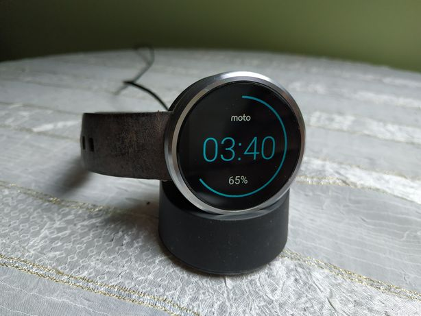 Smartwatch Motorola Moto 360 1 gen.
