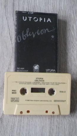 Utopia -Oblivion i Pages 2 kasety USA 1983 rock unikaty lata 80