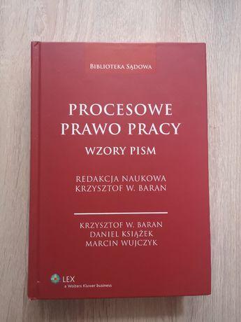 Procesowe prawo pracy Wzory pism K.W.Baran 2013
