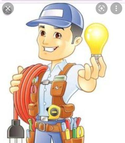 Serviços de eletricista