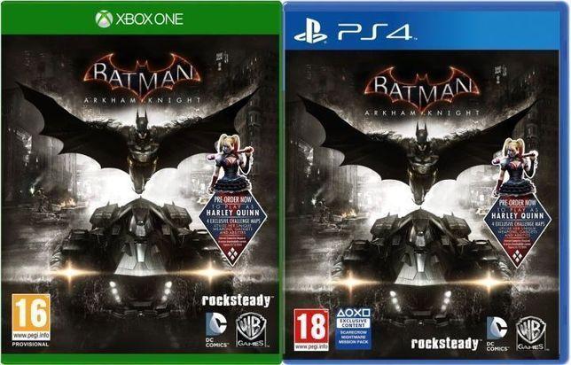 Игра Batman Return To Arkham и Arkham Knight, Quantum Break и Alan Wak