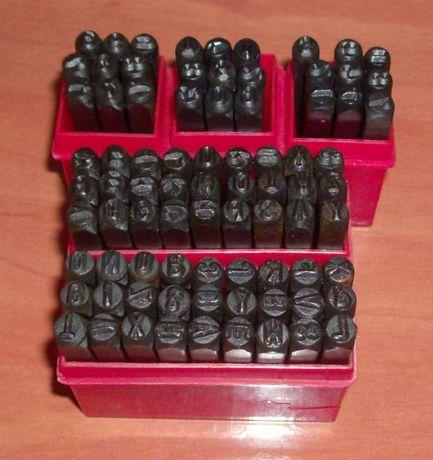 Punções Marcadores - Numericos e alfanumericos - medidas 2mm ate 12